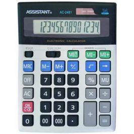 Калькулятор настольный Assistant AC-2481 14-разрядный AC-2481