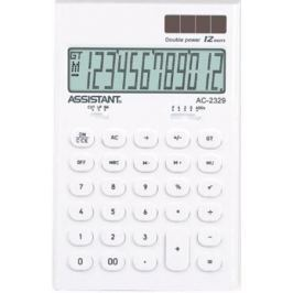 Калькулятор настольный Assistant AC-2329 12-разрядный AC-2329White