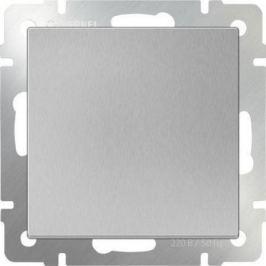 Перекрестный переключатель одноклавишный серебряный WL06-SW-1G-C 4690389073595