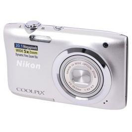 Фотоаппарат Nikon Coolpix A100 Silver (20.1Mp, 5x zoom, SD, USB, 2.6