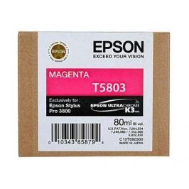 Картридж Epson C13T580300 для Stylus Pro 3800 Magenta пурпурный