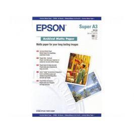 Фотобумага Epson A3 192г/кв.м матовая 50л C13S041340