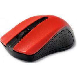 Мышь беспроводная Gembird MUSW-101-R красный USB + радиоканал