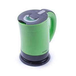 Чайник электрический Endever Skyline KR-357, черный/зеленый