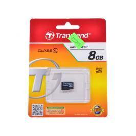 MicroSDHC Transcend 8GB Class 4 (TS8GUSDC4)