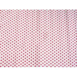 Креп-бумага Koh-I-Noor, белая с красными кружками, 2000х500 мм