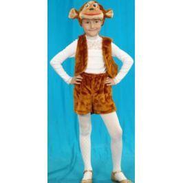Карнавальный костюм Костюмы Обезьяна (головной убор, жилет, шорты)