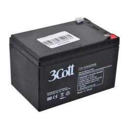 Аккумулятор 3Cott 12V12Ah