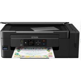 МФУ EPSON L3070 Принтер/сканер/факс. Фабрика печати. A4. 33стр/мин. Цветной. 2400x1200dpi. Wi-Fi. ЖК дисплей.