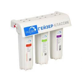 Трехступенчатый фильтр Гейзер Классик Комп для железистой воды Изготовитель: Россия, Давление: 0,5 атм., Температура воды: не более 40 градус