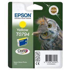 Картридж Epson C13T07944010 для Epson Stylus Photo 1500W желтый