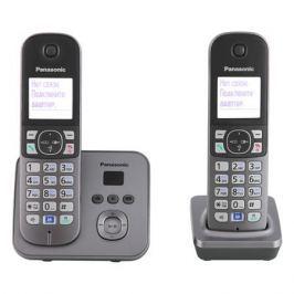 Телефон DECT Panasonic KX-TG6822RUM автоответчик Функция радио-няня