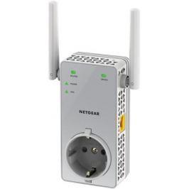 Повторитель сигнала NETGEAR EX3800-100PES Универсальный двухдиапазонный повторитель беспроводного сигнала AC750, 802.11b/g/n/ас 300+ 450Мбит/с, 1 по