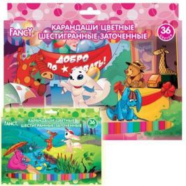 Набор цветных карандашей Action! Fancy 36 шт FCP101-36 FCP101-36