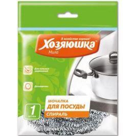 Мочалка для посуды спираль Хозяюшка Мила 02010