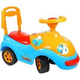 ОР119 Каталка Луноходик с музыкальным рулем синяя 5320