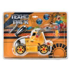 Конструктор Tongde Технопарк Трактор на гусеницах с подъемником
