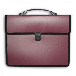Папка-портфель, 2 отделения, А4, ассорти