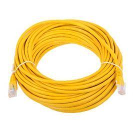 Сетевой кабель 15м UTP 5е, литой patch cord желтый Aopen [ANP511_15M_Y]