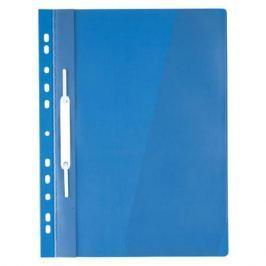 Папка-скоросшиватель с европланкой, ф.А4, синяя
