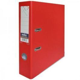 Папка-регистратор с покрытием PVC, 80 мм, А4, красная IND 8/50 PP RD