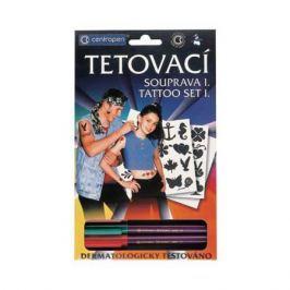 Набор маркеров Centropen TATTOO 1 мм 4 шт разноцветный 2880/4