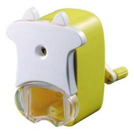 Точилка механическая Коровка ACTION!, пластиковый корпус, блистер c е/подвесом, ассорти 4 цвета ASH6