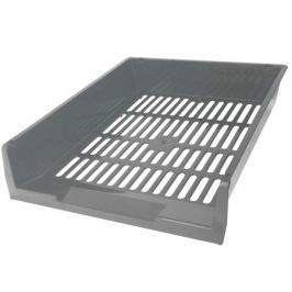 Лоток для бумаг горизонтальный ЛИДЕР, серый IT805Gy