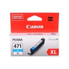 Картридж Canon CLI-471XL C для MG5740, MG6840, MG7740. Голубой. 715 страниц.