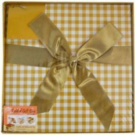 Коробка подарочная Golden Gift КЛЕТКА 25x25x25 см PW1055/255