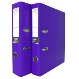 Папка-регистратор COLOURPLAY, 50 мм, ламинированная, неоновая фиолетовая