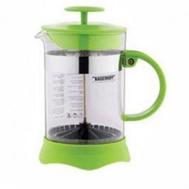 Френч-пресс Wellberg WB-9935 0.8 л пластик/стекло зелёный
