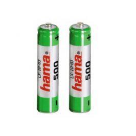 Аккумулятор 500 mAh Hama H-46565 AAA 2 шт