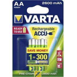 Аккумуляторы 2600 mAh Varta R2U AA 2 шт