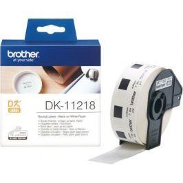 Наклейка Brother DK-11218 2.5см 1000шт