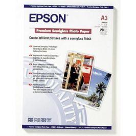 Бумага Epson A3 251 г/кв.м Premium Semiglossy Photo Paper [C13S041334] 20л