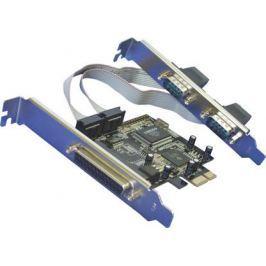Контроллер Orient XWT-PE2S1P (PCI-E -2xCOM+1LPT, MCS9901CV) Ret