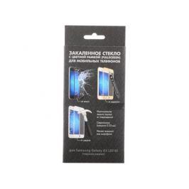 Закаленное стекло с цветной рамкой (fullscreen) для Samsung Galaxy A3 (2016) DFsColor-07(black)