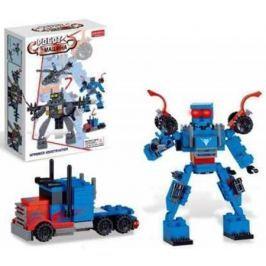 Конструктор Zhorya конструктор, робот-машина, 110 деталей, 17х12х4,5см