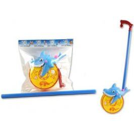 Каталка на палочке S+S Toys Веселая акула 28,5х31х10см