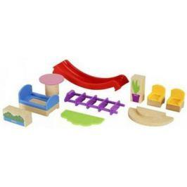 Игровой набор Brio мебели и аксесс-в для виллы,10эл.,26х5х10см,кор.