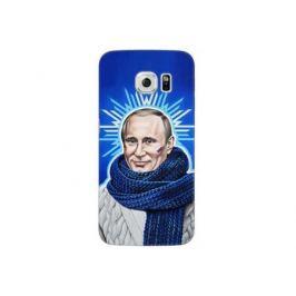 Чехол Deppa Art Case и защитная пленка для Samsung Galaxy S6 edge, Person_Путин звезда,