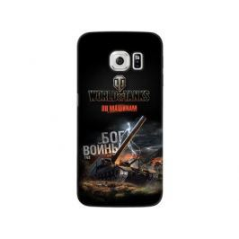 Чехол Deppa Art Case и защитная пленка для Samsung Galaxy S6 edge, Танки_Бог войны,