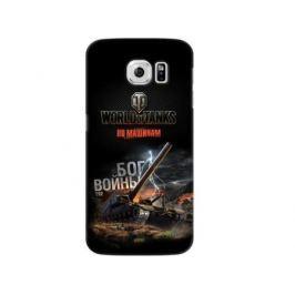 Чехол Deppa Art Case и защитная пленка для Samsung Galaxy S6, Танки_Бог войны,