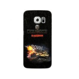 Чехол Deppa Art Case и защитная пленка для Samsung Galaxy S6 edge, Танки_Воин,