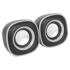 Колонки BBK CA-301S 2.0, Black/Metal (6 Вт, 100 - 20 000 Гц, от USB)