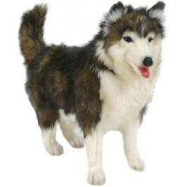 Мягкая игрушка Hansa Собака породы Сибирский Хаски, 40 см 4824