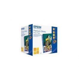 C13S041826 Бумага EPSON Premium Glossy Photo Paper (10x15см, 500 листов, 255 г/м2)