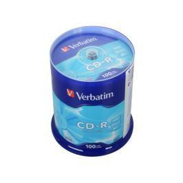 CD-R Verbatim 700Mb 52x 100шт Cake Box