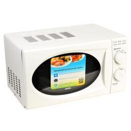 Микроволновая печь BBK 20MWS-803M/W (соло) белый, 800 Вт, 20л, Мех. упр.
